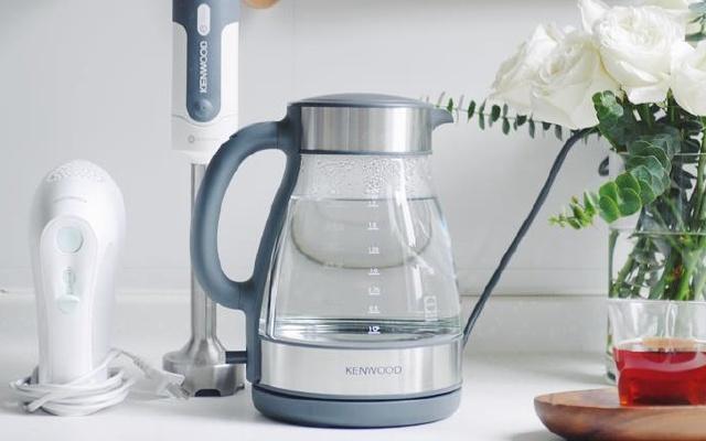 高顏值凱伍德玻璃電水壺,耐高溫無異味的居家良品