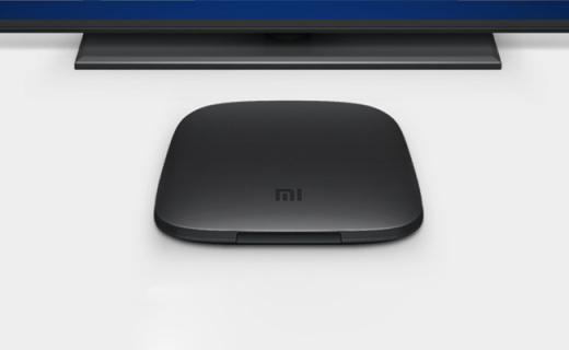 小米电视盒子3s:全新智能系统,高清输出,四核处理器性能强劲