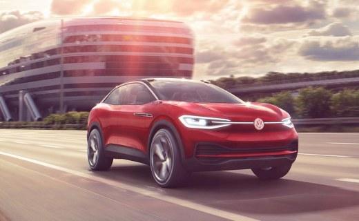 大众I.D. Crozz概念车,电动化计划的开始!