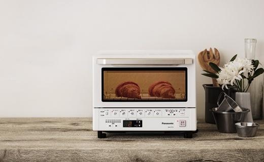 松下NB-DT51小烤箱,把变软的饼干再次还原