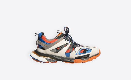 又见贴牌复古风!Balenciaga推出Track系列运动鞋