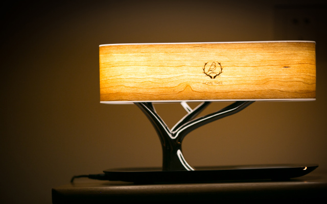 带无线音箱的蓝牙台灯,爆表颜值媲美艺术品 | 视频