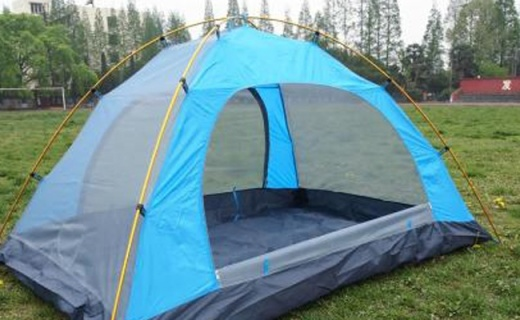 凯速全自动帐篷:一甩即开无需搭建,防雨防晒超实用