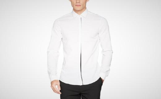 Calvin Klein衬衣:修身剪裁贴合身形,商务休闲多样搭配