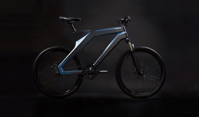 百度家的自行车,长相功能都挺猛 - DuBike