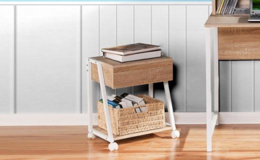 好事达收纳柜:碳钢骨架坚固耐用,简约设计超实用