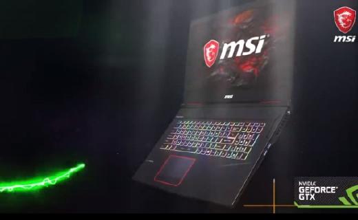 微星发布全新游戏本:除了8代i7,还有炫酷的RGB和细节升级