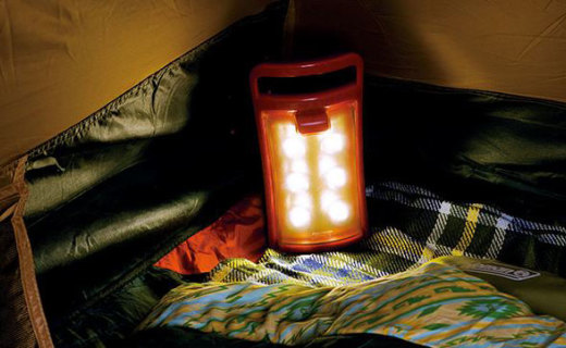 科勒曼4分式LED营灯:每个小灯都能拆卸,可分离成四个小灯