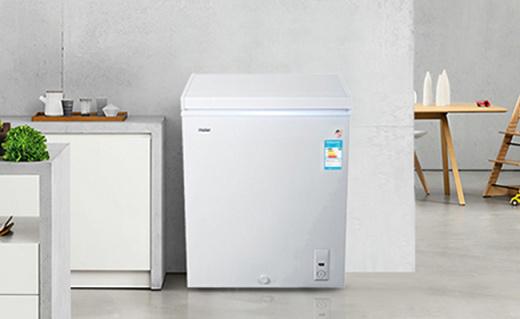 Haier 142升冰柜:3D逆循环速冷技术,节能又速冻