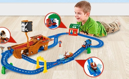Thomas&Friends电动小火车:寻找迷失宝藏,开发智力玩法多