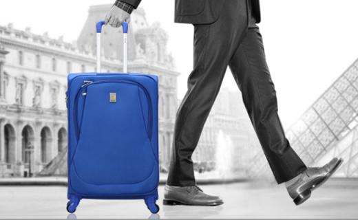 法国大使20英寸行李箱:防水防刮外壳,出差旅行使用省心