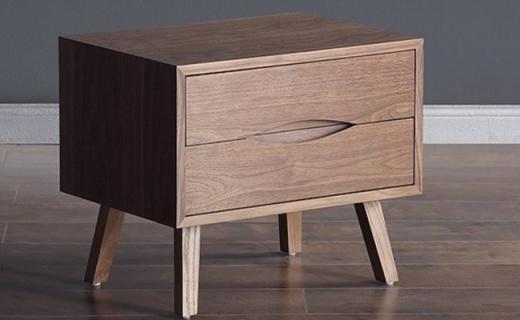 Gerooe简约床头柜:造型经典百搭,坚固实用不褪色