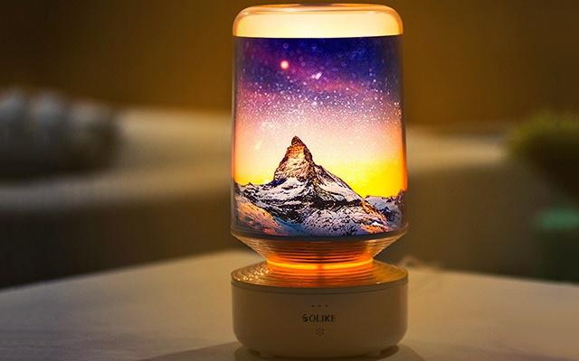 语音互动+DIY灯罩,这台灯让光亮多了份乐趣 — 艾美丽定制化语音台灯体验   视频