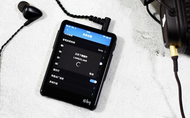 海贝R3音乐播放器测评,触摸操作的全面屏听歌神器
