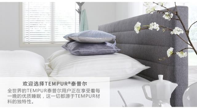 泰普尔(TEMPUR)感温护颈枕