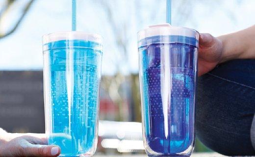 Zoku旅行吸管杯:材质安全无毒,红遍朋友圈的网红杯