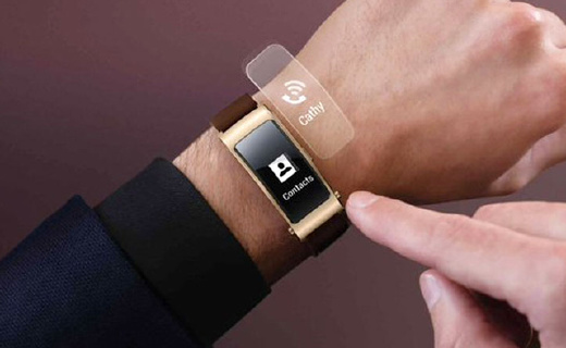 华为B3智能手环:运动监测信息通知全能,可秒变蓝牙耳机