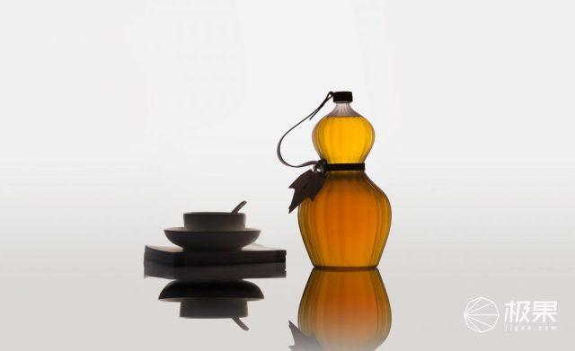 设计师推葫芦造型食用油,看起来十分讨喜