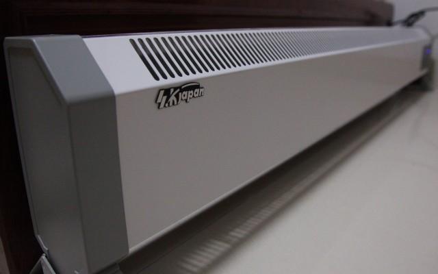 SK JAPAN踢脚线式取暖器两年使用评测