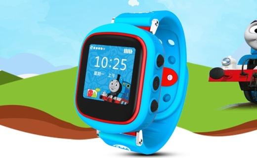 托马斯和朋友儿童电话手表:安全无毒硅胶材质,远程定位放心出行