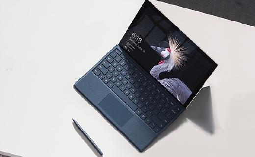 微软Surface Pro M3平板电脑:10点触控操作方便,超薄机身方便携带