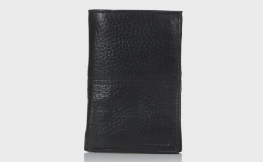 Cole Haan男士钱包:真皮材质精致耐用,经典三折很便携
