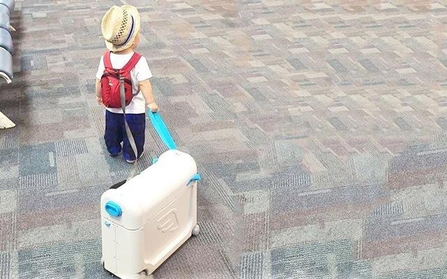 JetKids多功能儿童旅行箱,孩子的百变小魔箱
