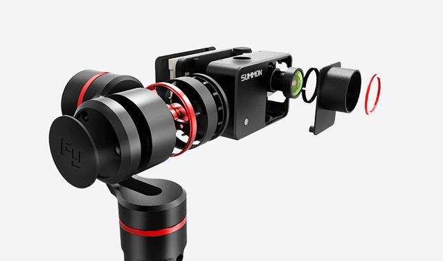 【首发】飞宇科技SUMMON魅眼一体智能手持云台运动数码相机摄影