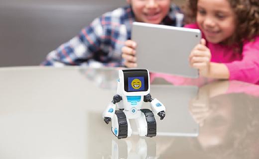 WowWee COJI编程机器人:可用APP操控,更改表情符号语言程序