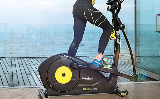锐步GX60椭圆机:静音还不占空间,瘦腿瘦臀首选