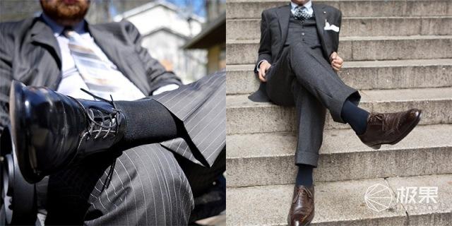 无印良品(MUJI)棉混合脚直角船袜