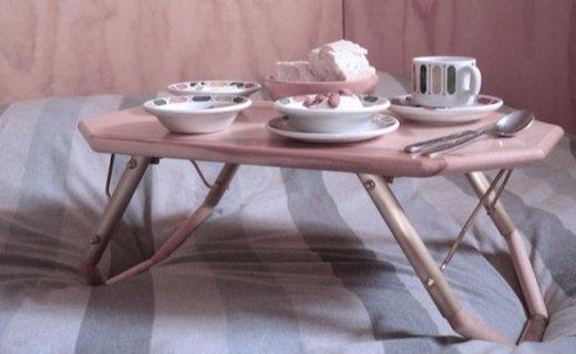 灵感来自翅膀的折叠桌,多种使用模式任你选