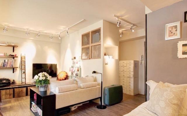 小资租房族超实用改造,10个又省又美的收纳布置秘诀