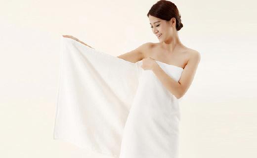 抗菌抗螨的长绒棉毛巾,超强吸水不掉毛