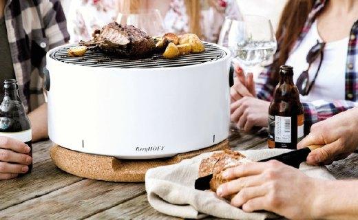 BergHOFF桌面烤炉,隔热便携颜值高