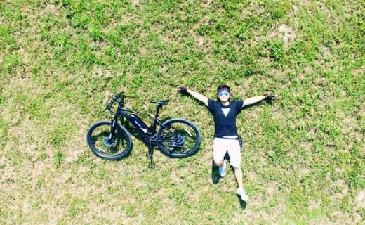 """骑着带""""涡轮增压""""的山地车,再远的路也不怕累了"""
