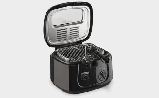 Toastmaster油炸锅:三档温度可调,透视视窗顶盖方便查看