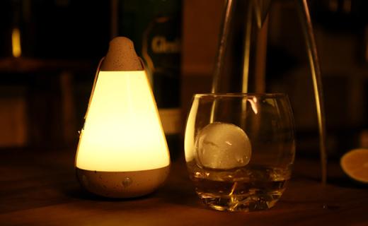 Roome创意灯具:暖色光线不刺眼,可APP控制