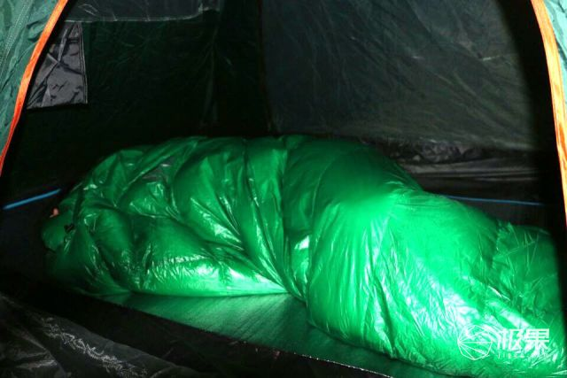 黑冰E400睡袋