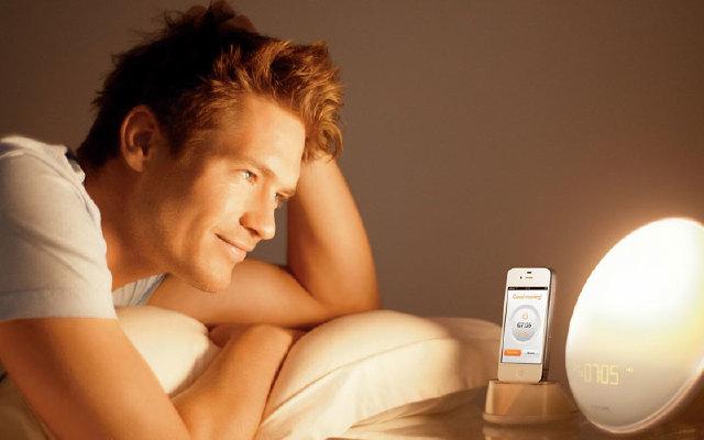 告别闹钟,让温暖阳光叫你起床-飞利浦HF3550唤醒灯