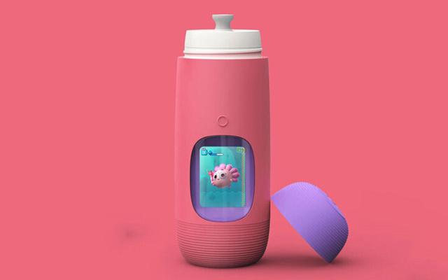 这会讲故事的水杯,智能提醒让孩子爱上喝水 — Gululu Talk智能互动水杯体验