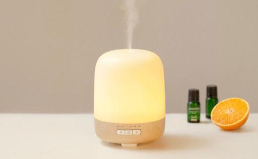 基本生活加湿器:香薰加湿二合一,LED暖光营造温馨氛围