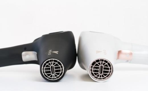 VOLO Beauty 发布全无线吹风机,自带电池不受线缆束缚