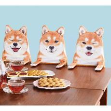 Polar Bear 柴犬系列 柴犬纸巾遥控器收纳盒和柴柴一起吃饭