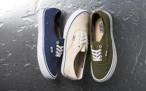 瑞士科技面料加持Vans鞋,防水防污告别苦逼洗鞋