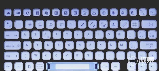 2019CES展会上新:电子墨水键盘今夏开售,人人都能私人定制