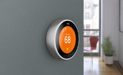 Nest智能恒温控制器,节能省电还能让你四季如春
