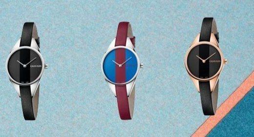 CK发布新款腕表,撞色条纹设计重新定义反叛