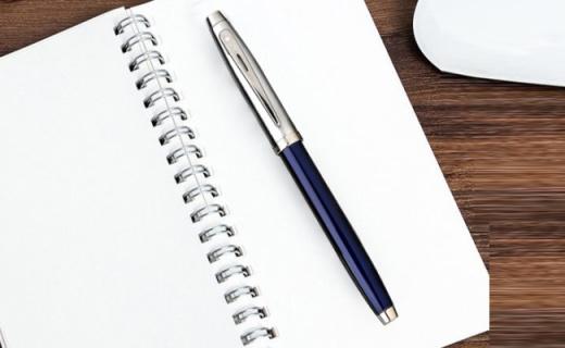 Sheaffer签字笔:握感舒适书写流畅,精钢拉丝有调性