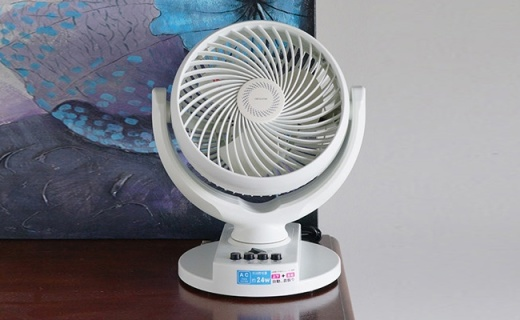 森田迷你电风扇:循环空气四季都可用,小身材大能量